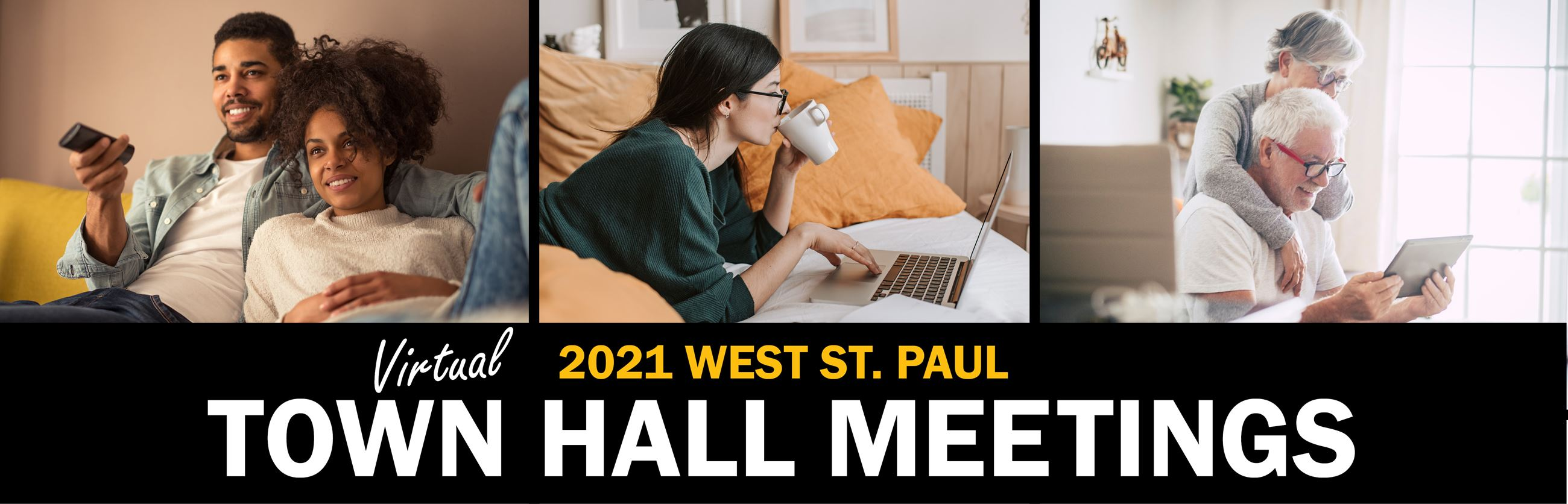 2021 Town Hall Meetings  Webpage Banner