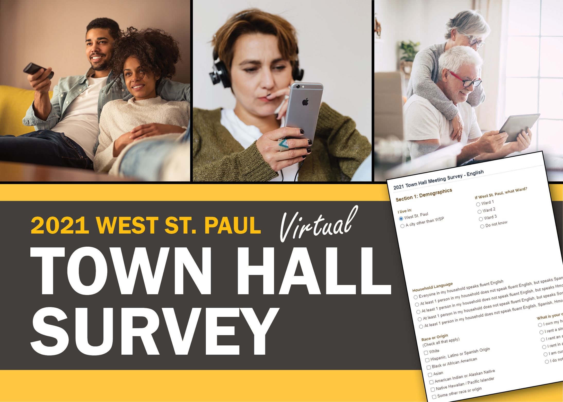 Town Hall Survey Graphic Link